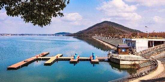 南京六合金牛湖风景图片桌面壁纸