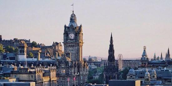 爱丁堡城市建筑风景图片桌面壁纸