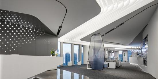 案例 | 汇创国际建筑设计-万科滨海云中心办公展厅:无拘界限,韵律之境