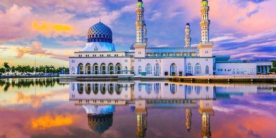 清真寺复古建筑风光图片桌面壁纸