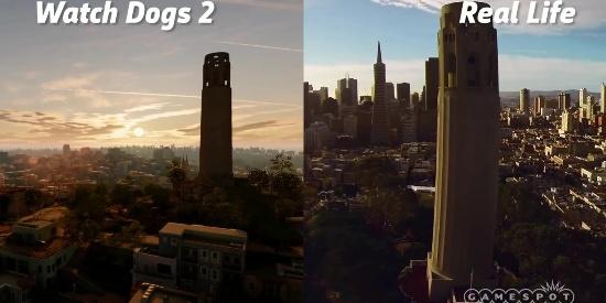 盘点游戏中那些被完美还原的城市