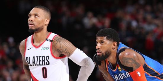 NBA季后赛首轮:雷霆-开拓者G2