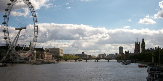 英国伦敦地标--伦敦眼图片
