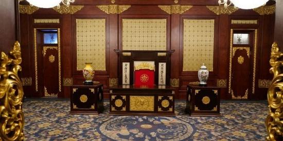 伪满皇宫博物院风景摄影图片壁纸