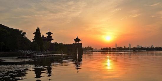 休闲度假胜地武汉东湖风景摄影图片壁纸