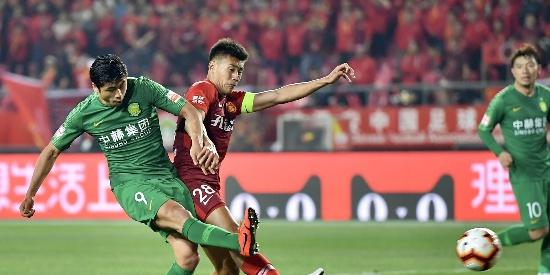 中超第6轮:华夏0-1国安