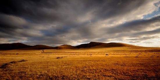 唯美内蒙古坝上草原秋季风景图片
