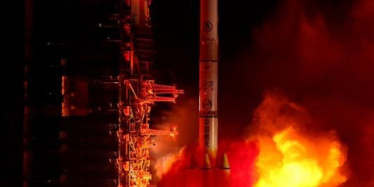 第100次发射!长征三号乙运载火箭成功发射北斗导航卫星
