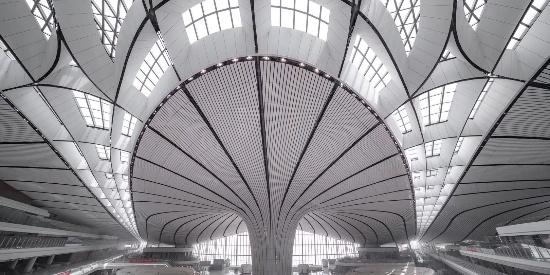 北京大兴新机场建成 如今是啥样?