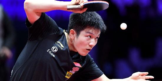 樊振东发挥稳定 晋级男单32强