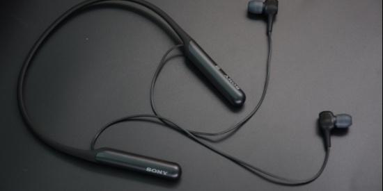 畅享音乐感动 索尼颈挂式降噪耳机WI-C600N图赏