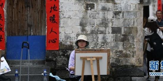 绘画者聚集之地 皖南古村落写生好去处