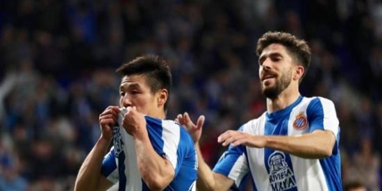 西甲第34轮:西班牙人1-1塞尔塔