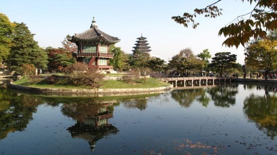 韩国景福宫旅游风景名胜摄影图片大全