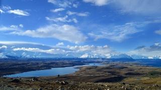 新西兰南岛唯美自然山水风景摄影图片