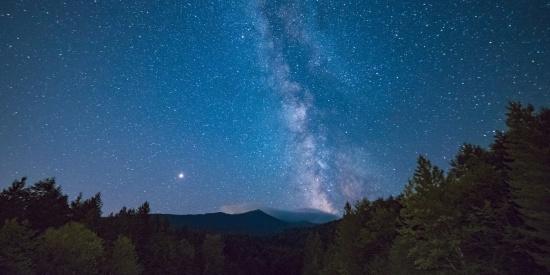 浩瀚的星空图片