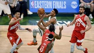 NBA东部决赛G5:雄鹿VS猛龙