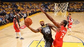 NBA总决赛:猛龙VS勇士G4