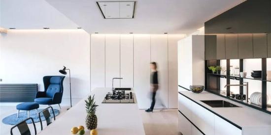 130㎡ 旧房改造,客厅、厨房、卧室设计都很赞!