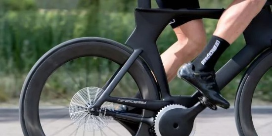 号称全球最省力的自行车,两脚随便一蹬就能快如闪电_图片之家