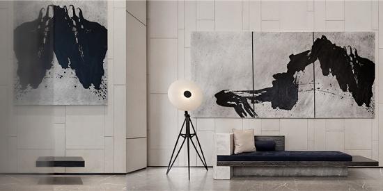 意巢设计-云山素居:清晖灵逸,抒意东方美学的会所设计