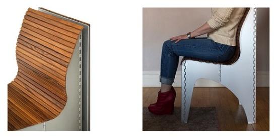 拉一下即可收纳的神奇凳子,让你随时随地想坐就坐_图片之家