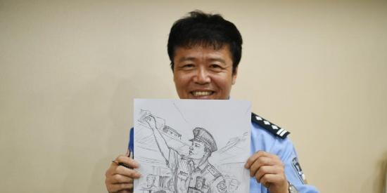 长春乘警手绘漫画 记录三十年从警生涯