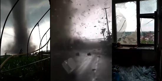 辽宁开原遭遇龙卷风袭击已致6死190伤 受灾现场损失惨重