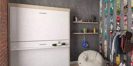 欧洲家具厂推出可收纳双层床,分分钟让你多出一间房_图片之家