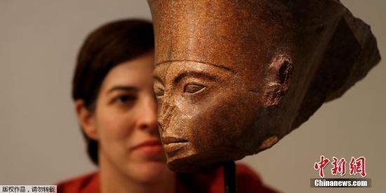 少年法老图坦卡门雕像确定被拍卖 埃及当局呼吁归还