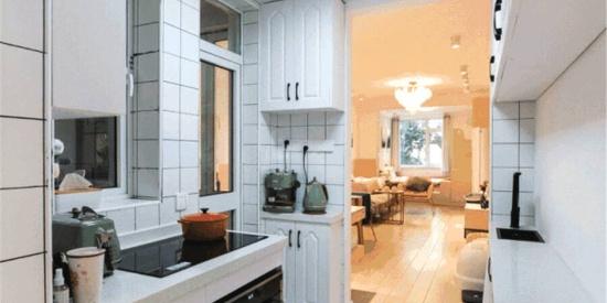 60㎡老破小,巧用粉色系,打造舒适精致的家!