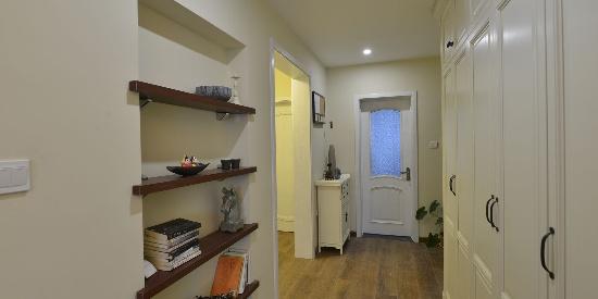 小户型美式风格二居室客厅装修效果图