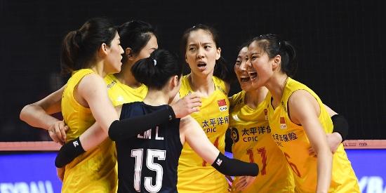 中国女排3-1战胜土耳其 夺得世联赛总决赛季军