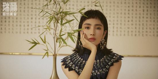 王紫璇解锁中国风大片 古典气质显东方魅力