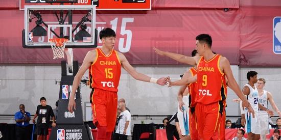 中国男篮发威 力克黄蜂取NBA夏联首胜
