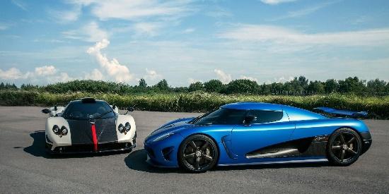帕加尼Zonda Cinque & 柯尼赛格Agera S
