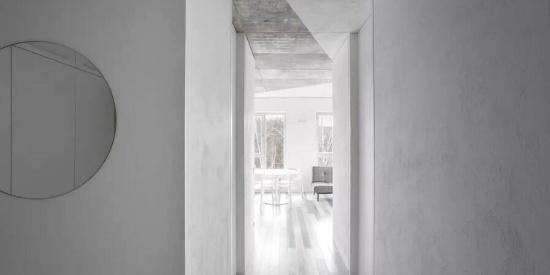 60㎡ 极简白+水泥灰,这样设计空间超显大