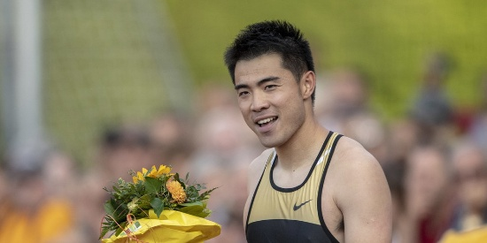 逆风13秒45!谢文骏瑞士赛110米栏夺冠