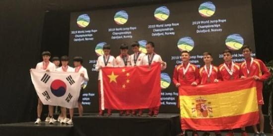 世界冠军!中国小学生再破纪录