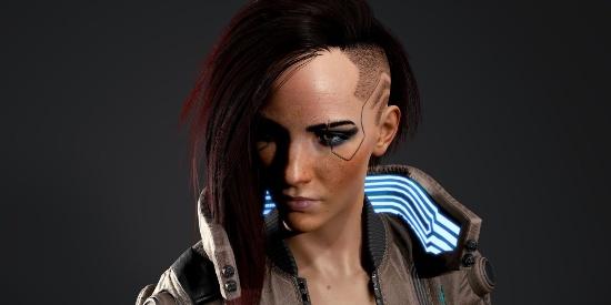 《赛博朋克2077》公布游戏角色高清渲染图