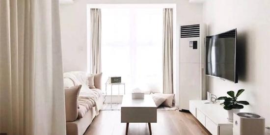 小户型客厅沙发茶几效果图,小茶几简约灵动!