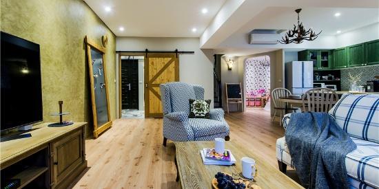 黄建华新作-房屋设计:运用色彩与材质 营塑南欧乡村生活感