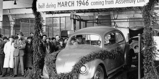 甲壳虫正式停产 老照片记录下的传奇历史