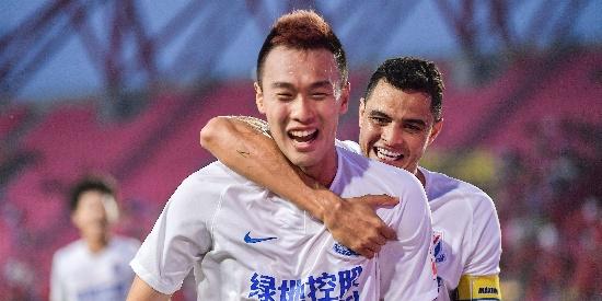 中超第17轮:华夏VS申花