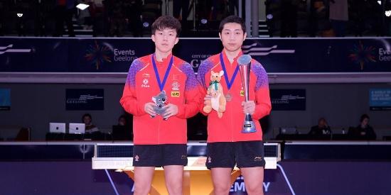 许昕4-0零封王楚钦 连夺三站公开赛男单冠军