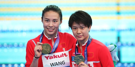 中国队在这项目上实现十连冠