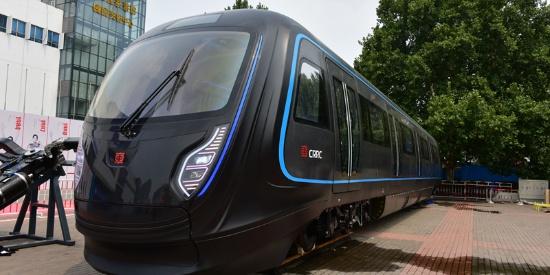 新一代CRRC地铁列车,面向未来的概念车