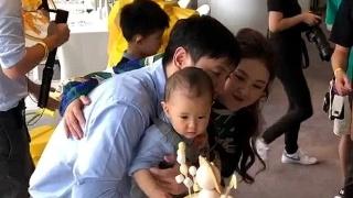 沈腾夫妻为儿子办周岁宴 1岁小狮子萌力十足