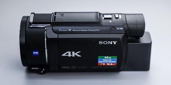 方便Vlog拍摄的好装备 索尼4K摄像机AX60外观图赏