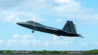 美国空中国民警卫队在夏威夷演习